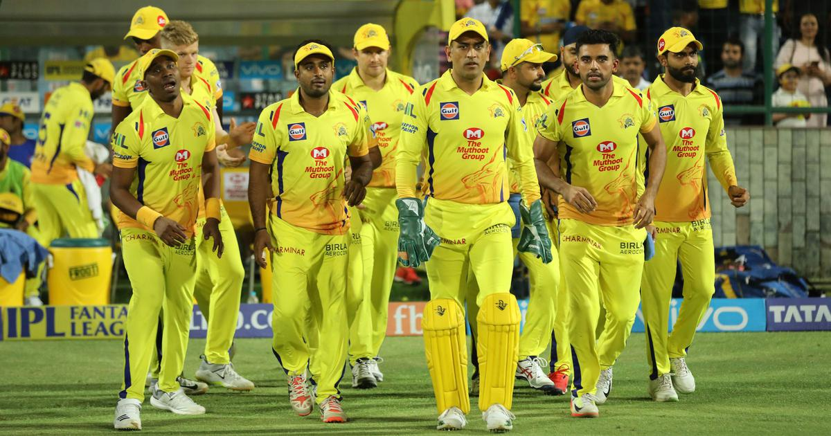 Captain Mahendra Singh Dhoni of CSK reached Chennai before leaving the Indian Premier League: IPL 21