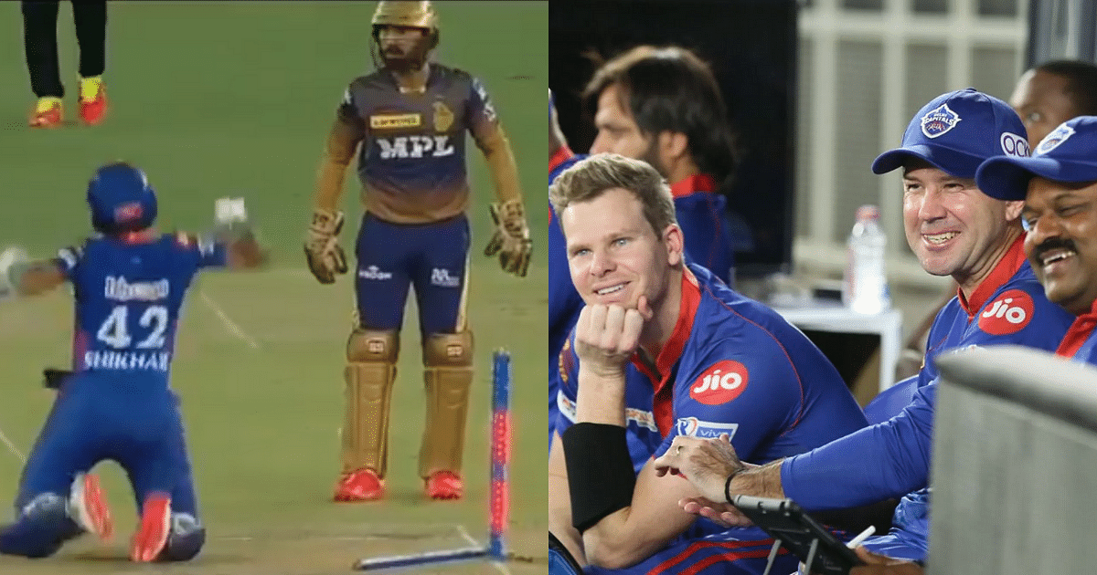 Watch- Dinesh Karthik Appeals In Front Of Shikhar Dhawan, The Latter  Responds Hilariously