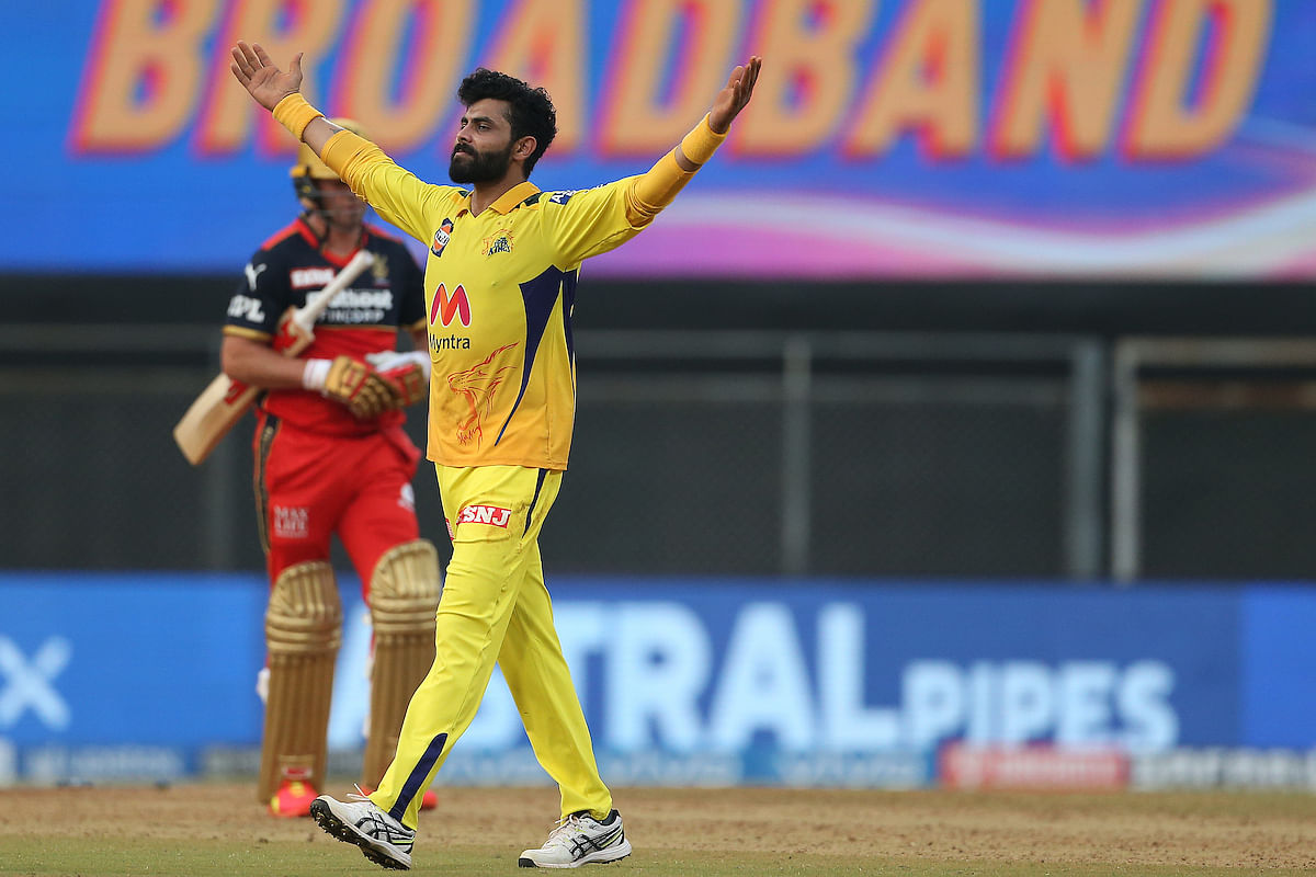 IPL 2021: Twitter Erupts As Ravindra Jadeja's All-Round Performance Propels Chennai Super Kings To A Commanding Win Over Royal Challengers Bangalore