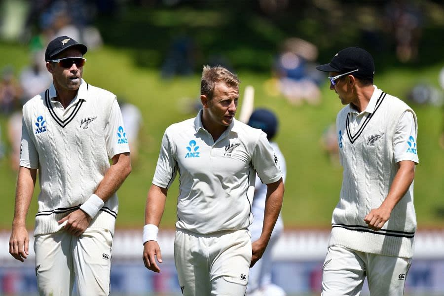 Trent Boult, Tim Southee and Neil Wagner [Image-Getty]