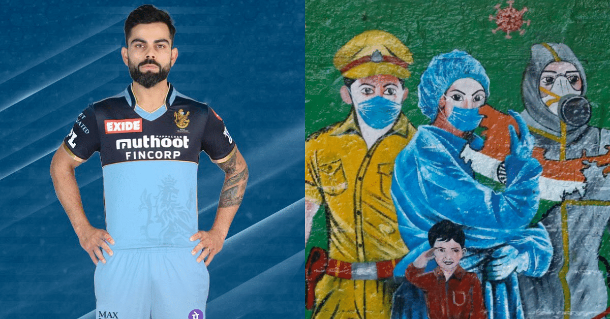 IPL 2021: Royal Challengers Bangalore (RCB) To Sport Blue Jersey To Pay Respect To COVID-19 Frontline Workers