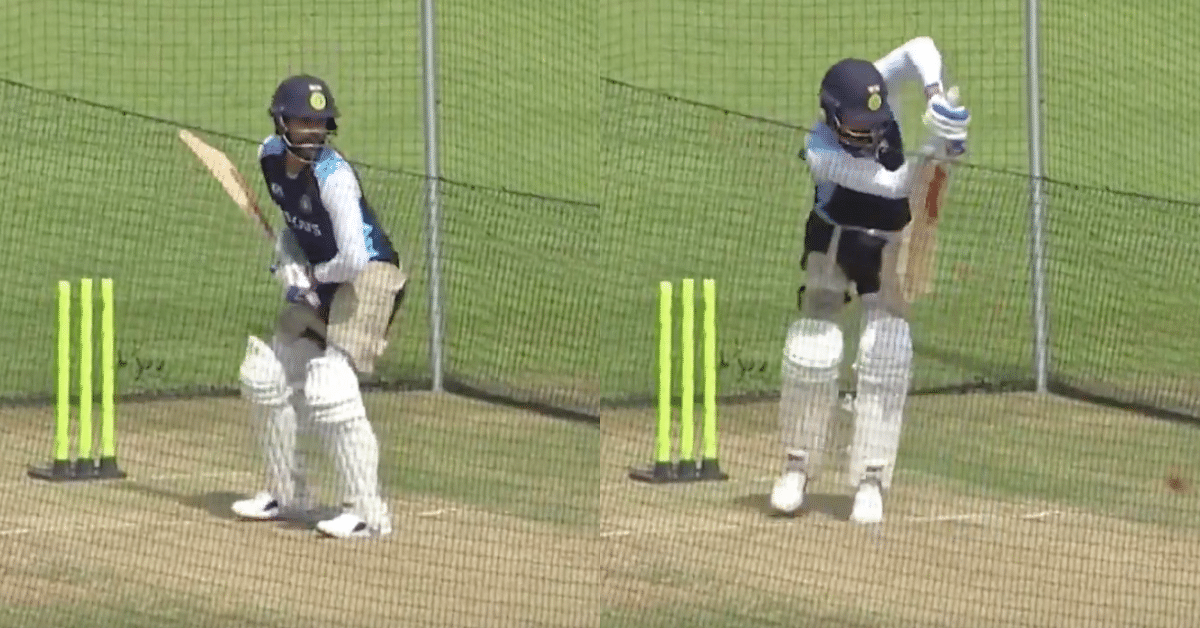 Watch: Virat Kohli Bats In The Nets During Lunch Break On Day 2 Of The Warm-Up Match