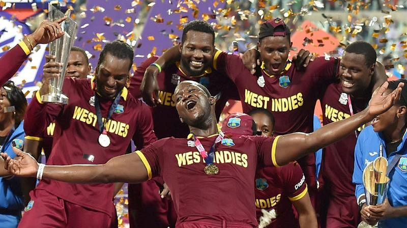 West Indies Cricket won the 2016 ICC T20 World Cup. Credits: Twitter