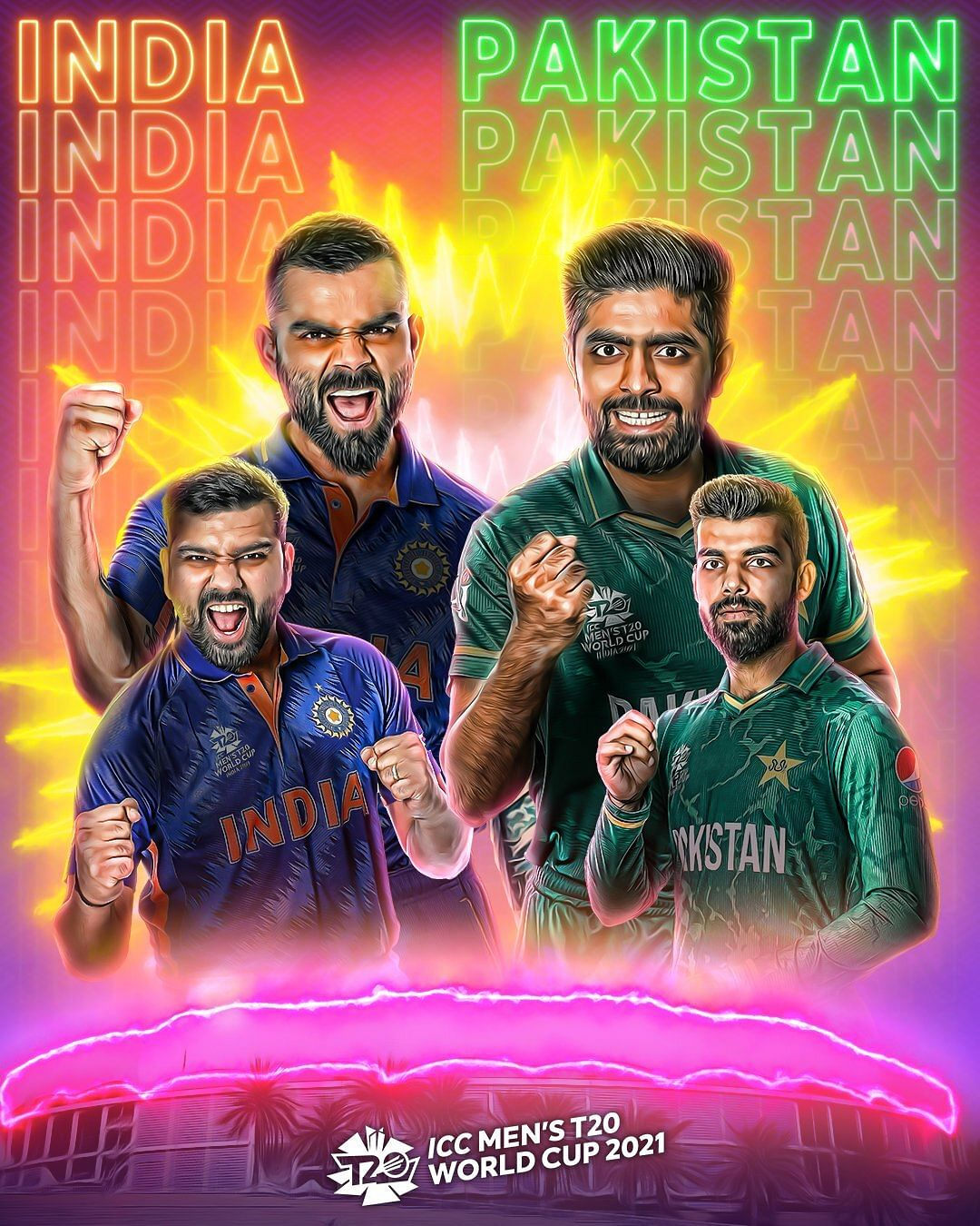 Icc World T20 2021 | Pakistan vs India Highlights today 720p HDRip 100MB Download